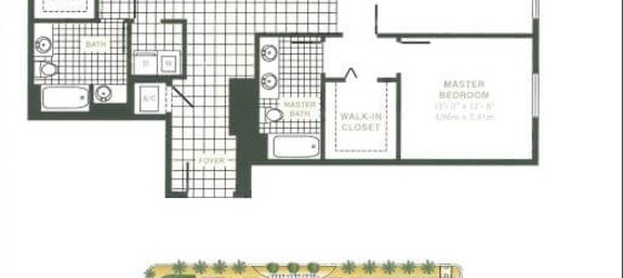 3 bedroom Miami Lakes
