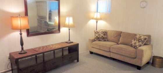 TUFTS CAMPUS - Furnished Apt w/Wifi, Laundry and All Utilities Included