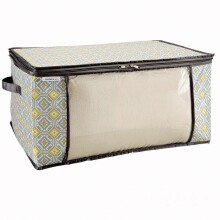 Blanket Bag - Jeanie Grey Citron