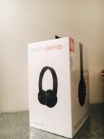Beats by Dr. Dre Solo3 Wireless Headphones - Matte Black - Box Never Opened