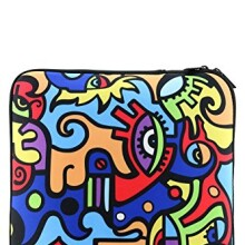 Enesco Billy The Artist Collection Neoprene Laptop Case, 15-Inch