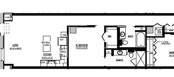 2 bedroom Downtown