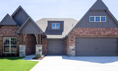 Houses Near Sand Springs 11119 S Cleveland St - Newer 4BR + Office, 3 BA in Jenks West! for Sand Springs Students in Sand Springs, OK