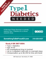 Type 1 Diabetics Needed!