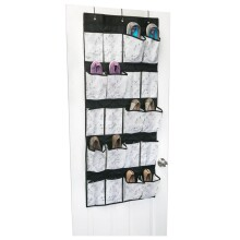 Marble 20-Pocket Shoe Organizer