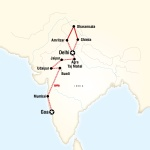 Northern India & Rajasthan to Goa by Rail