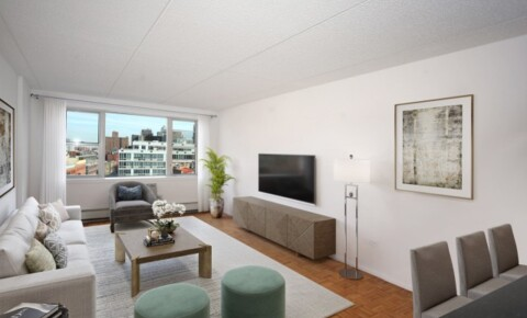 Apartments Near YU MURRAY HILL MANOR - Top Luxury Flex 2 Bedroom Apt. 24 Hr Doorman bldg w/Roof Deck, Attended Garage. Pet Friendly. No Fee. for Yeshiva University Students in New York, NY