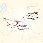 UNF Student Travel Central Asia – Multi-Stan Adventure for University of North Florida Students in Jacksonville, FL